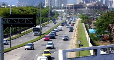 Avenida Ayrton Senna no Rio