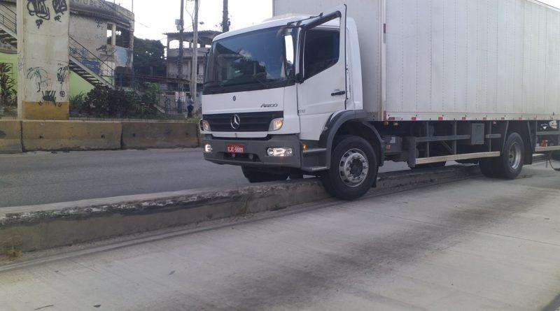 Acidente com caminhão