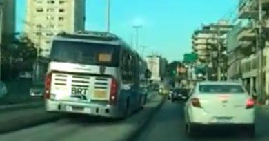 BRT Rio Suspensão