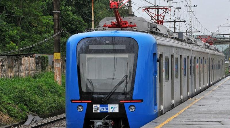 Trem da SuperVia Rio