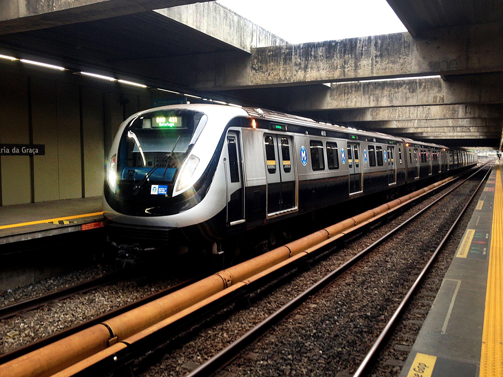 Trem do MetrôRio