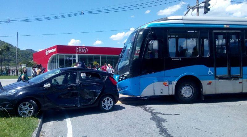 Acidente BRT Calha