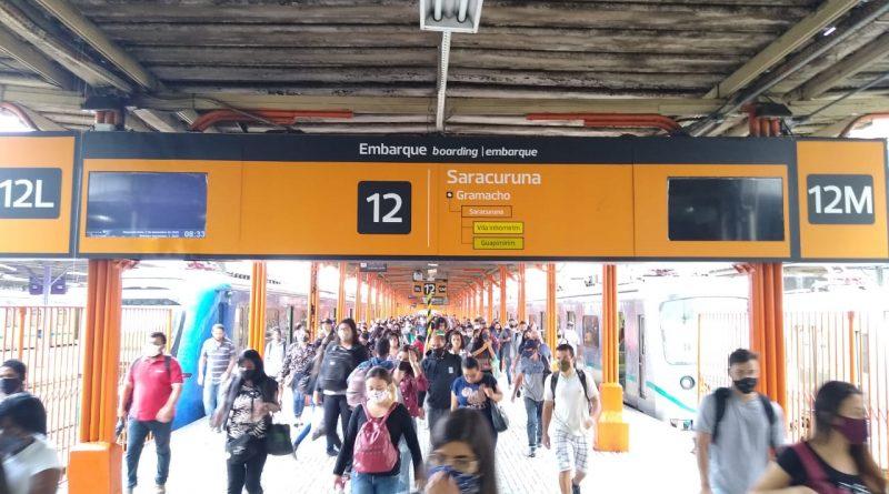 Estação Saracuruna SuperVia