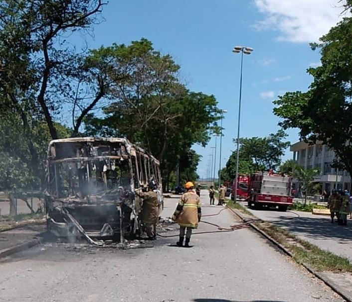 Incêndio Ônibus