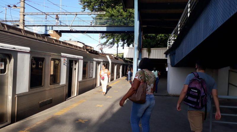 Plataforma SuperVia Rio