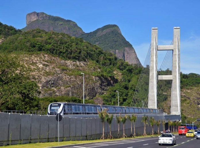 Trem Metrô Rio